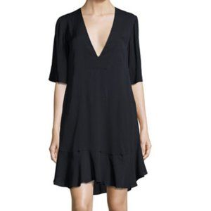A.L.C. Delaney Silk Shift Dress Short Sleeve Sz 2